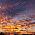 Panoramic Hill Country Sunset by Paul Huchton