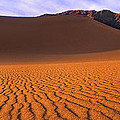 Panoramic Mesquite Sand Dune Patterns Death Valley National Park by Dave Welling