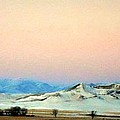 Panoramic Mountain Sunrise by Desiree Paquette