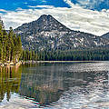 Panoramic Of Anthony Lake by Robert Bales