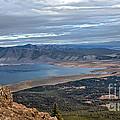 Panoramic Of Henry's Lake by Robert Bales