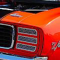 panoramic orange Z28 Camaro by Mark Spearman