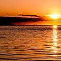 Panoramic Photo Of Sunrise At Monkey Mia Of Australia by Yew Kwang