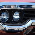 panoramic Plymouth GTX by Mark Spearman