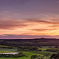 Panoramic Sunset Over England by Simon Bratt Photography LRPS