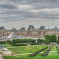 Panoramic View Musee Du Louvre by Malu Couttolenc