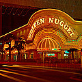 Panoramic View Of Golden Nugget Casino by Panoramic Images