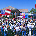 Panoramic View Of Spectators At Oxnard by Panoramic Images