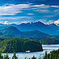 Panoramic View Of Tofino Vancouver Island Canada by Mark Skalny