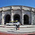 panoramic View of Union station in Washington DC by Alex Grichenko