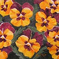 Pansies Are For Thoughts by Ruth Soller
