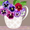 Pansy Passion by Valerie Drake Lesiak