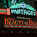 Pantages Theather Marquie by Tommy Anderson