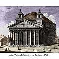 Pantheon Santa Maria Della Rotonda by John Madison