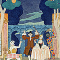 Pantomime Stage by Georges Barbier