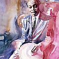 Papa Jo Jones Jazz Drummer by David Lloyd Glover