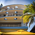 Congress Hotel Of South Beach by Karen Wiles