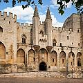 Papal Castle In Avignon by Inge Johnsson