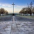Papal Cross In Dublin's Phoenix Park by Mark Tisdale