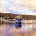 Papeete Harbour Dawn by David M Davis
