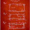 Paper Currency Patent From 1962 - Red by Aged Pixel