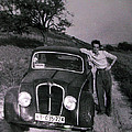 Papa Hans Around Alba South France In His Younger Days 1954  by Colette V Hera  Guggenheim
