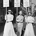 Parade For Court Reform by Underwood Archives