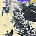 Parade Honoring General Nelson A. Miles  11-08-1887 Geronimo's Capture Tucson Color Added 2008 by David Lee Guss
