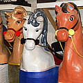 Parade Horses by Cheryl Cencich
