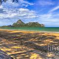Paradise Beach by Adrian Evans