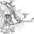Paradise Falls Thousand Oaks California by Robert Birkenes