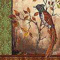 Paradise Flycatcher by Jean Plout