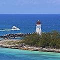 Paradise Island Lighthouse by Richard Booth