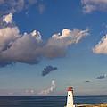 Paradise Island Lighthouse by Stephanie McDowell