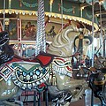 Paragon Carousel Nantasket Beach by Barbara McDevitt