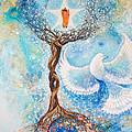 Paramhansa Yogananda - Mist by Ashleigh Dyan Bayer
