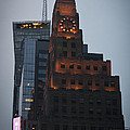 Paramount Building Times Square by Teresa Mucha