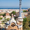 Parc Guell Barcelona Antoni Gaudi by Matthias Hauser