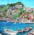 Parga In Greece by Teresa Dominici