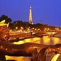 Paris At Night by Dan Breckwoldt