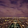 Paris At Night  by Ioan Panaite