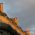 Paris At Sunset by Ann Horn
