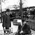 Paris Bird Vendors, 1900 by Granger