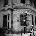 Paris Black And White Marais by Evie Carrier