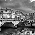 Paris Black And White by Pati Photography