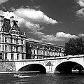 Paris Building In Bw by Joice Karyadi