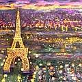 Paris City Of Lights by Rita Brown