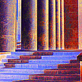 Paris Columns by Chuck Staley