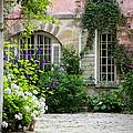 Paris Courtyard by Brian Jannsen