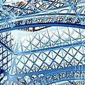 Paris Design In Blue by Carol Groenen